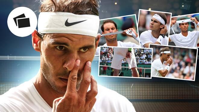 Rafael Nadal hat für sein Spiel strenge Routinen, die schon an Ticks erinnern