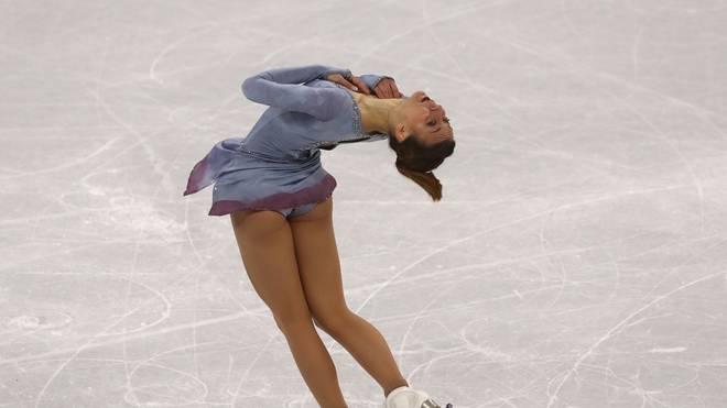 Eiskunstlauf-WM in Saitama mit Kurzprogramm und Paarlauf , Nicole Schott zeigte bei der WM in Japan ein fast fehlerfreies Kurzprogramm