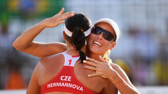 Brazil v Czech Republic - Beach Volleyball - Olympics: Day 1
