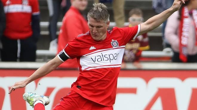 Bastian Schweinsteiger ist mit Chicago Fire problemlos in den US-amerikanischen Pokalwettbewerbs eingezogen