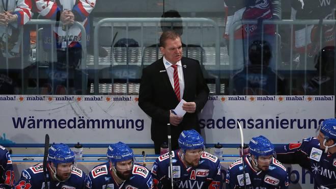 Trainer Sean Simpson muss die Adler Mannheim verlassen