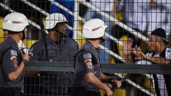Brasilien erhöht Sicherheitsmaßnahmen für Copa America, Bei der Copa America in Brasilien setzt der Gastgeber rund 10.000 Sicherheitskräfte ein