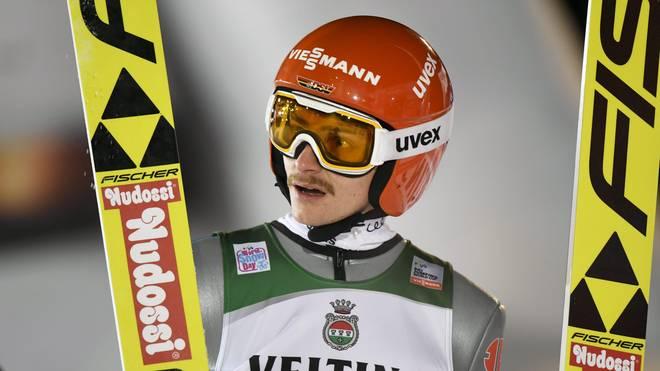 Richard Freitag will in Engelberg das Gelbe Trikot des Weltcup-Führenden verteidigen