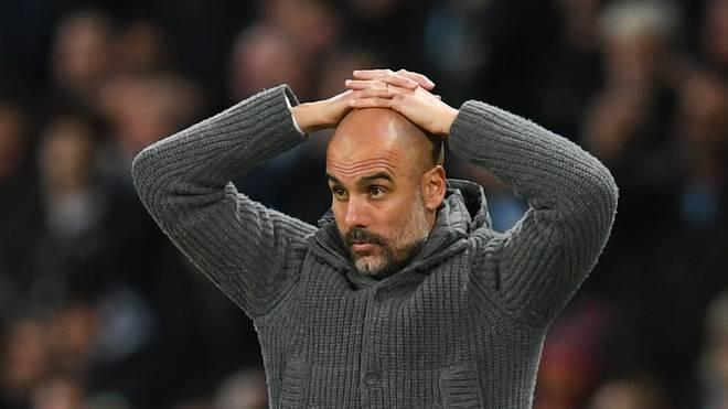 Pep Guardiola droht mit Manchster City der Auschluss aus der Champions League