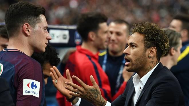 PSG: Julian Draxler spricht über Streit mit Neymar, PSG-Zoff! Neymar und Julian Draxler geraten aneinander