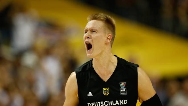Robin Benzing spielt in der Basketball Bundesliga für s.Oliver Würzburg