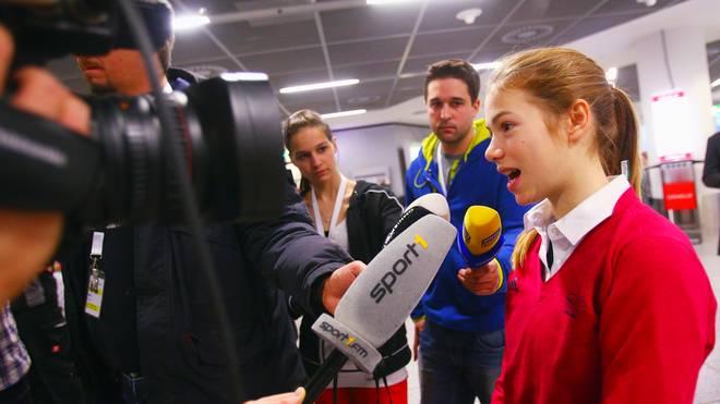 Anna Seidel (r.) nahm bereits an den olympischen Spielen 2014 in Sotschi teil