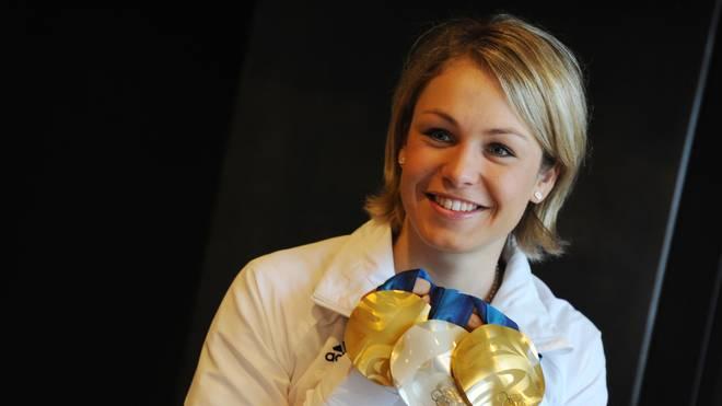 Magdalena Neuner gewann bei Olympia 2010 in Vancouver drei Mal Edelmetall