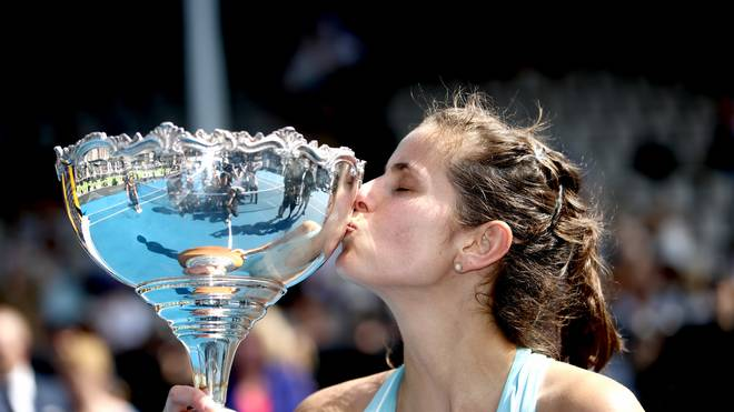 Julia Görges feierte in Auckland ihren dritten Turniersieg in Folge