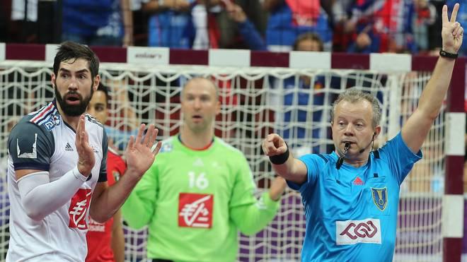 Blaue Karte Soll Sperre Im Handball Nach Sich Führen