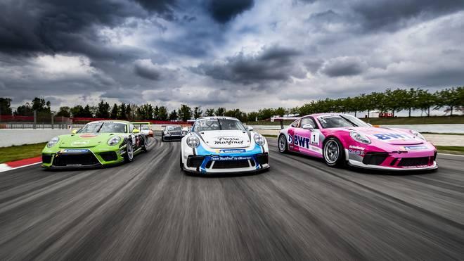 Der Porsche Mobil 1 Supercup startet im Rahmen des Formel-1-Wochenendes in Barcelona