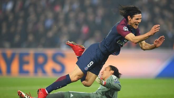 Edinson Cavani spielt seit 2013 bei Paris Saint-Germain