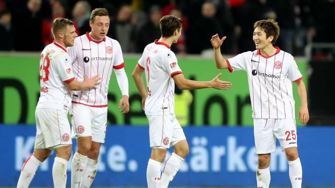Fortuna Duesseldorf v FC Erzgebirge Aue - Second Bundesliga