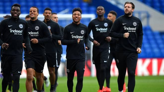 Eintracht Frankfurt will ins Finale der Europa League einziehen