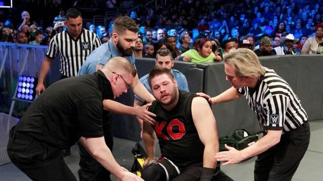 Kevin Owens war beim Hauptkampf von WWE SmackDown Live entscheidender Faktor