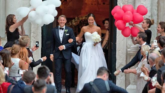 Bastian Schweinsteiger heiratete Ana Ivanovic - im Juli!