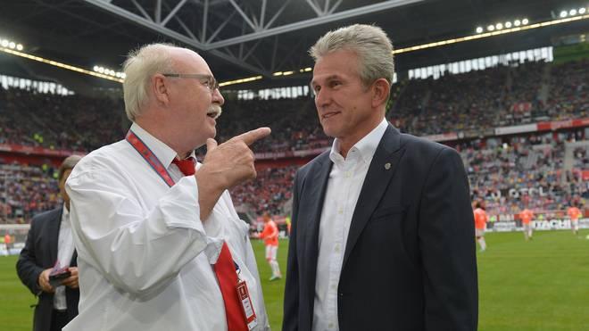 2012 kreuzten sich die Wege zwischen Jupp Heynckes als Bayern-Trainer und Wolf Werner als Manager bei Fortuna Düsseldorf