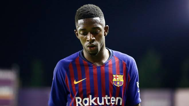 Ousmane Dembele kann die Erwartungen beim FC Barcelona derzeit nicht erfüllen