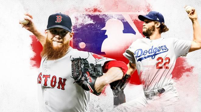 Die Boston Red Sox und die Los Angeles Dodgers duellieren sich im Finale