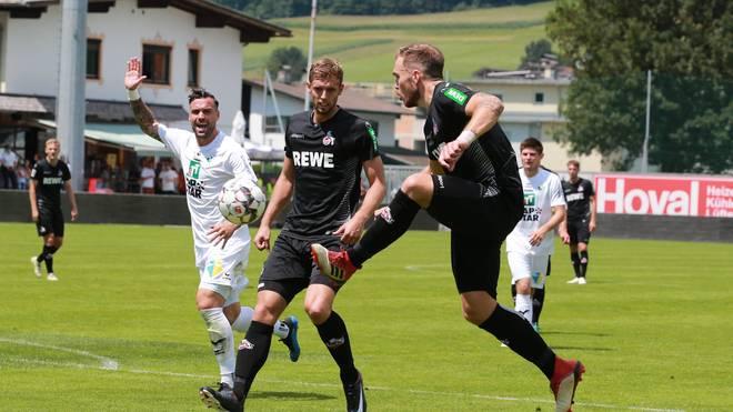 Rafael Czichos (r.) und Lasse Sobiech stehen in der Kölner Startelf gegen Watford