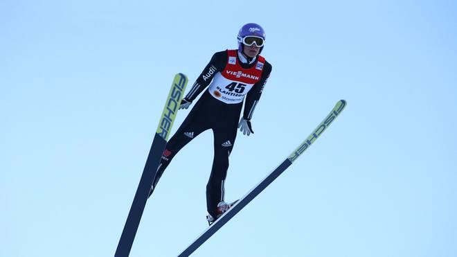 Andreas Wellinger sprang nur auf Platz 27