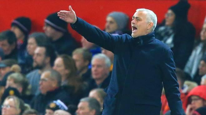 Jose Mourinho von Manchester United ist nicht gut auf seine Spieler zu sprechen