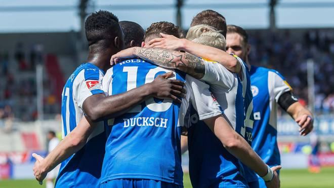 Holstein Kiel ist die Relegation durch den Kantersieg kaum noch zu nehmen