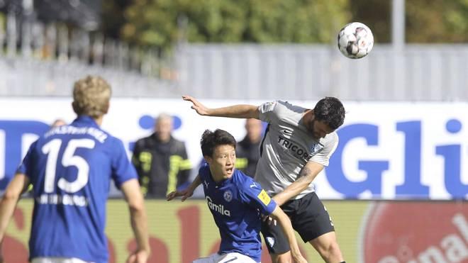 2. Bundesliga: Holstein Kiel - VfL Bochum 2:2 - VfL gibt Führung her