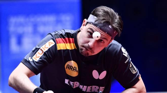 Timo Boll gewann mit Deutschland WM-Silber bei der Team-WM