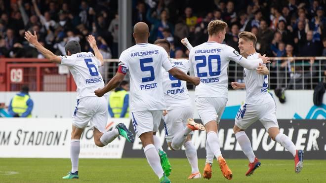 SC Preussen Muenster v Karlsruher SC - 3. Liga