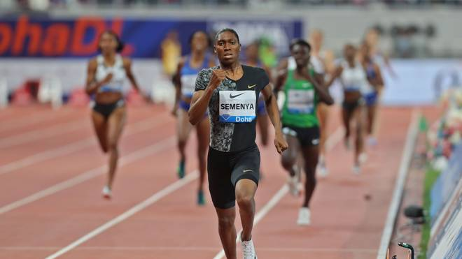 ATHLETICS-QAT-IAAF-DIAMOND: Caster Semenya