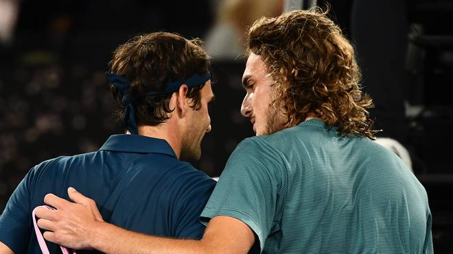 Stefanos Tsitsipas warf Superstar Roger Federer aus dem Turnier