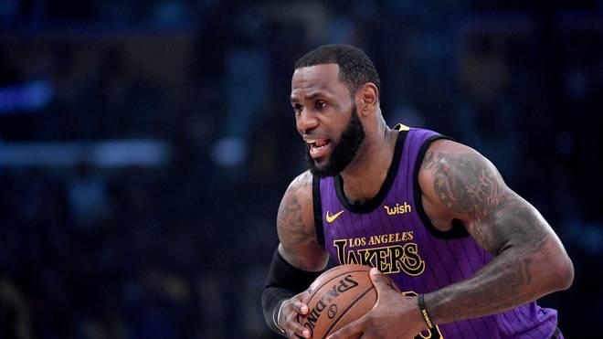 LeBron James kam 2019 noch nicht zum Einsatz