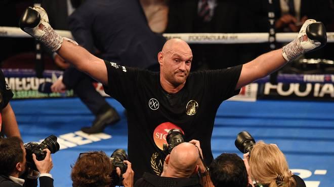 Tyson Fury muss in seinem nächsten Kampf gegen einen Deutsch-Italiener ran