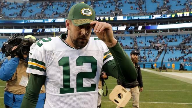 Für Quarterback Aaron Rodgers ist die NFL-Saison gelaufen