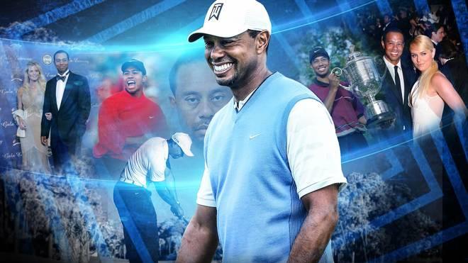 Die Karriere von Golf-Profi Tiger Woods in Bildern
