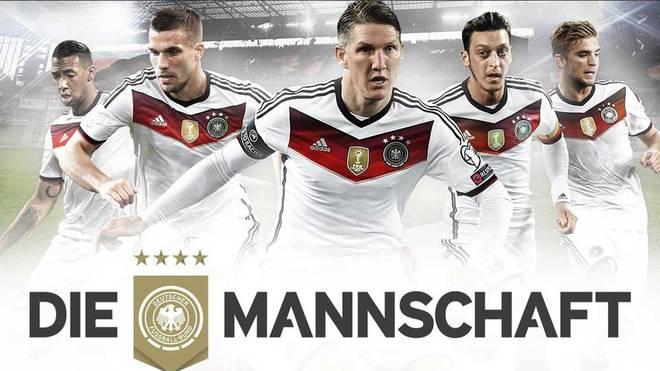 Der DFB präsentierte das neue Logo für die Nationalmannschaft