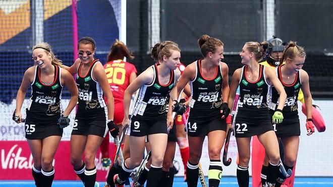 Die deutschen Hockey-Damen treffen bei der WM im Viertelfinale erneut auf Spanien