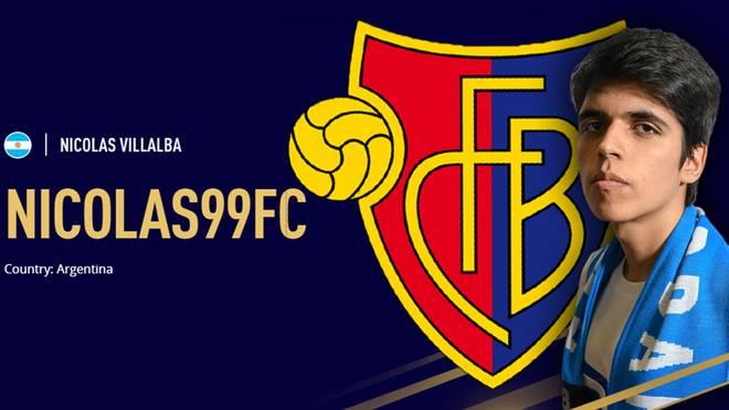 """Niclas """"nicolas99fc"""" Villalba unterschreibt für zwei Jahre beim FC Basel in der Schweiz"""