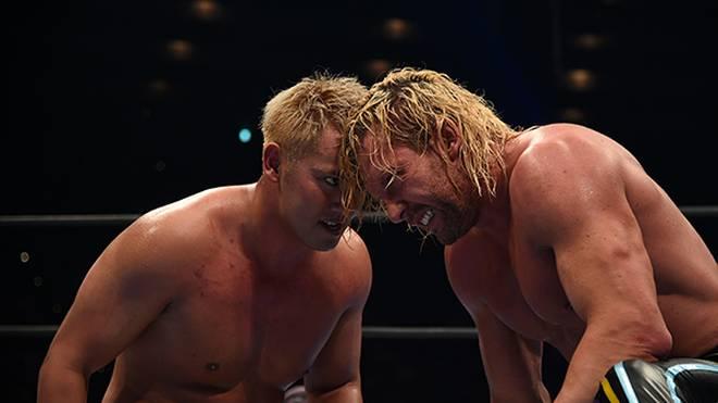 Kazuchika Okada (l.) und Kenny Omega haben bei NJPW Dominion wieder einmal brilliert