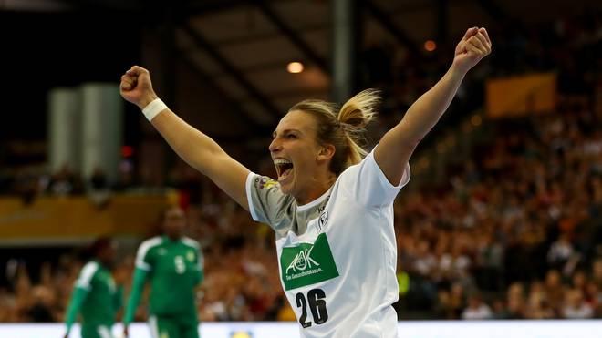 Die Spiele der deutschen Handballerinnen sind gut besucht