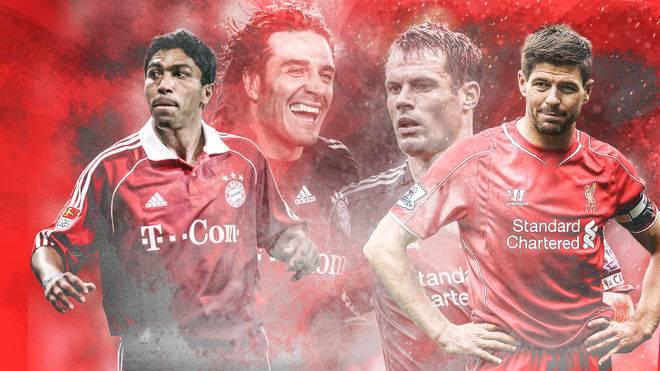 Die FC Bayern Legends fordern Liverpools Ikonen.