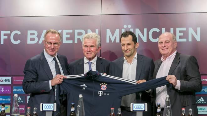 """Karl-Heinz Rummenigge bezeichnet die Rückkehr von Jupp Heynckes zum FC Bayern als """"wunderbares Comeback"""""""
