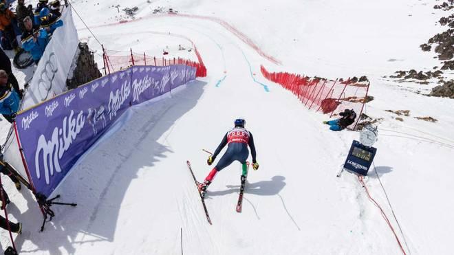Ski Wm In St Moritz Die Spektakuläre Abfahrt Mit Freiem Fall