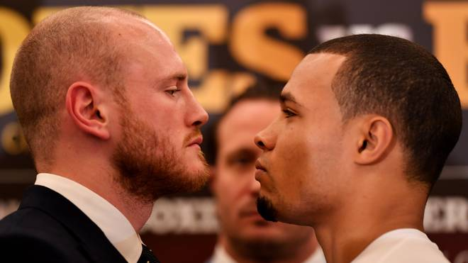 George Groves and Chris Eubank Jr. Press Conference