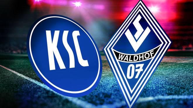 Der Karlsruher SC und Waldhof Mannheim spielen um den Einzug ins badische Pokalfinale