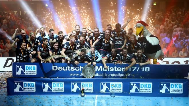 Zum zweiten Mal in der Geschichte der SG Flensburg-Handewitt schnappte sich das Team den Meistertitel