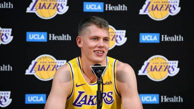 Die Los Angeles Lakers setzen große Hoffnungen in das deutsche NBA-Talent Moritz Wagner