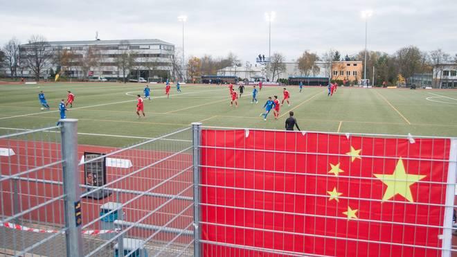 Das Gastspiel von Chinas U20-Team in der Regionalliga Südwest war nur von kurzer Dauer