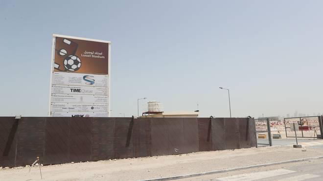 Hier entsteht das Finalstadion der WM 2022 in Katar